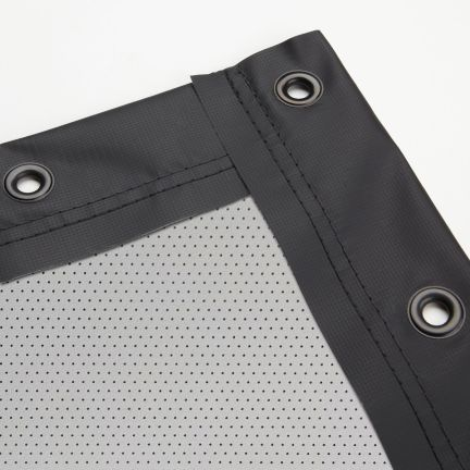 Nano Acoustic FlexiGray Finished Edge Projector Screens