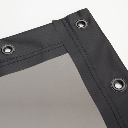 Gray Rear Finished Edge Projector Screens