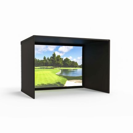 Pro Golf Enclosure with Impact Screen