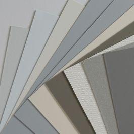 White Carl's FlexiWhite Gain 1.1 2.39:1 Projector Screen w//Edge 4x9