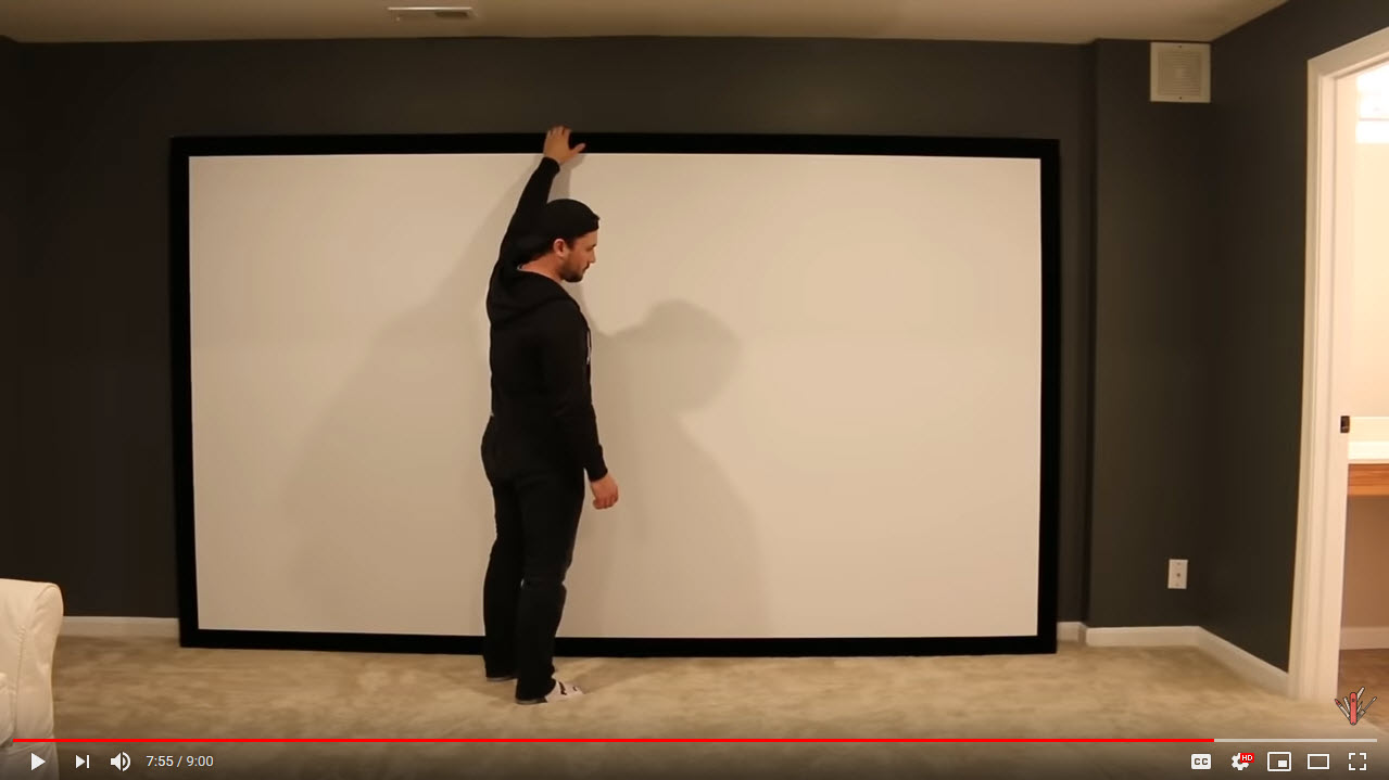 VIDEO: DIYwithRick – How to Build a Projector Screen