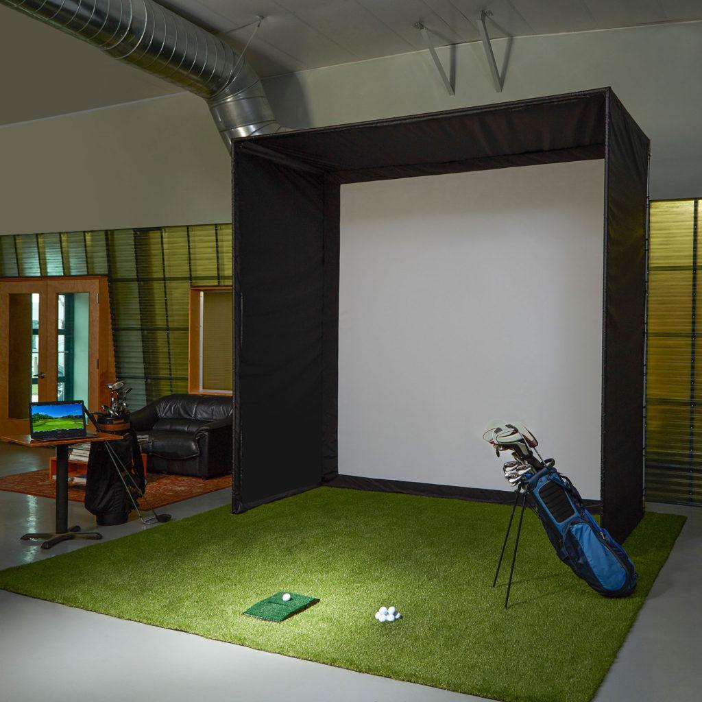 diy golf simulator