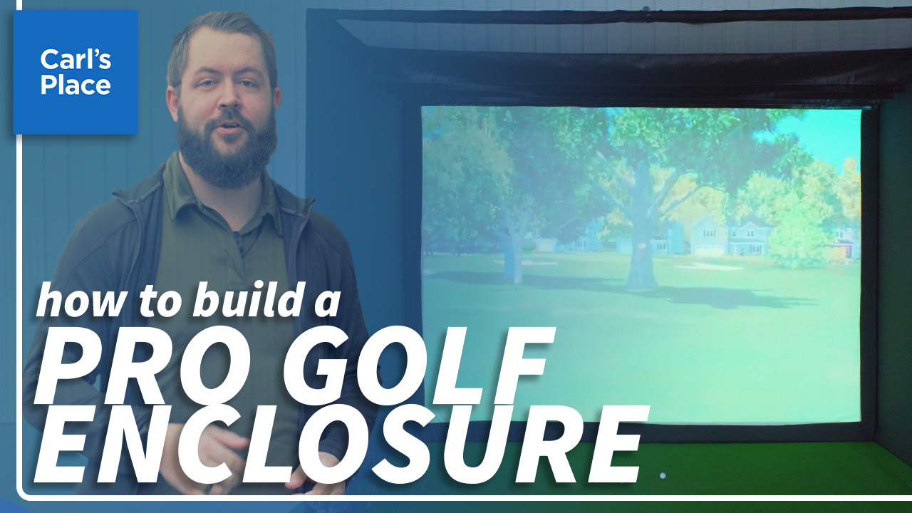 How to Assemble a Pro Golf Simulator Enclosure Kit