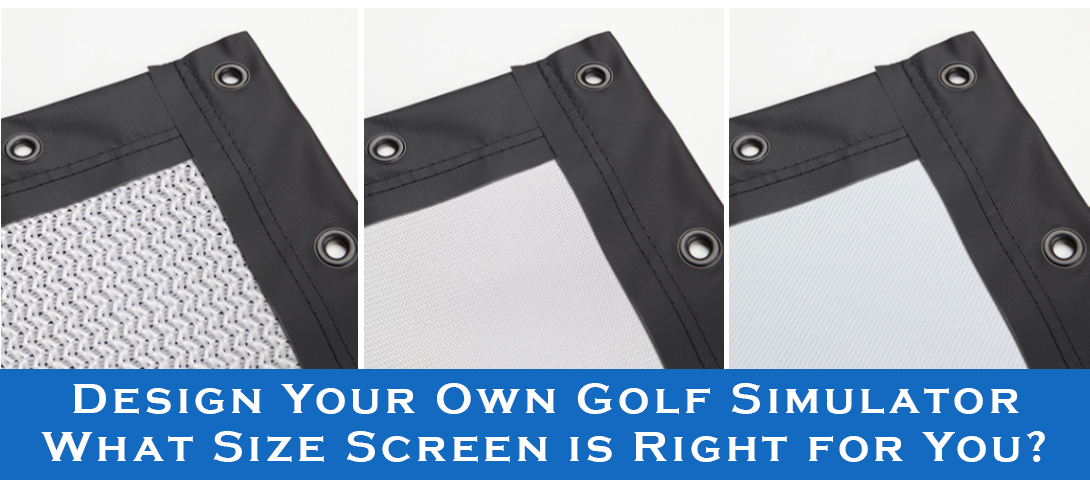 How to Select the Best Golf Screen Size