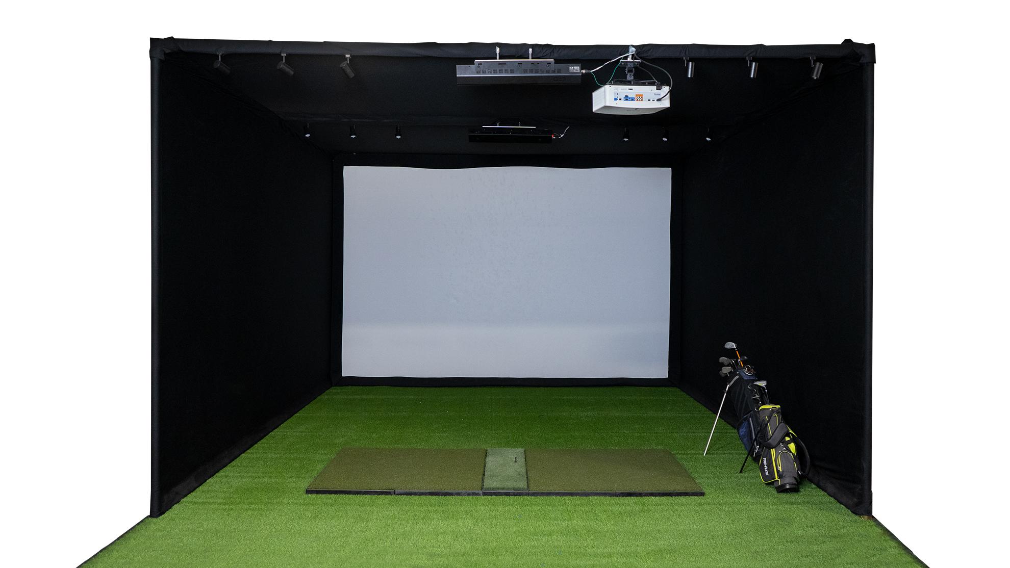 Considering a crossbar for your Golf Simulator design?