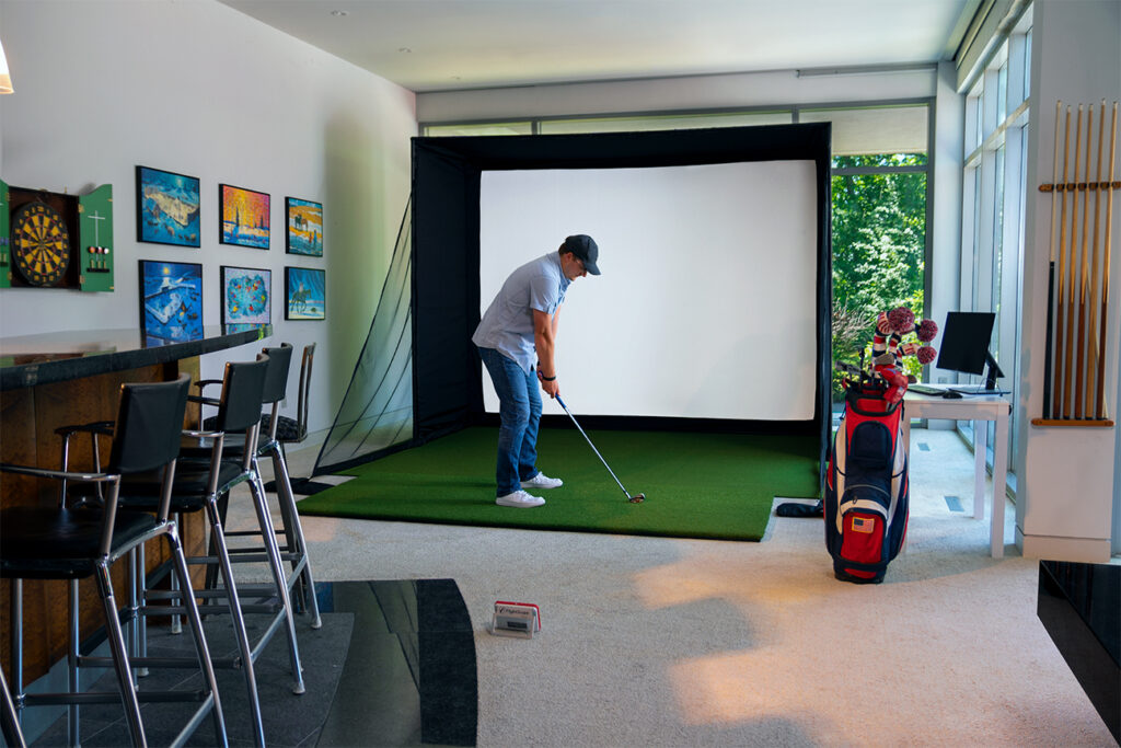 Do-it-yourself Golf Enclosure