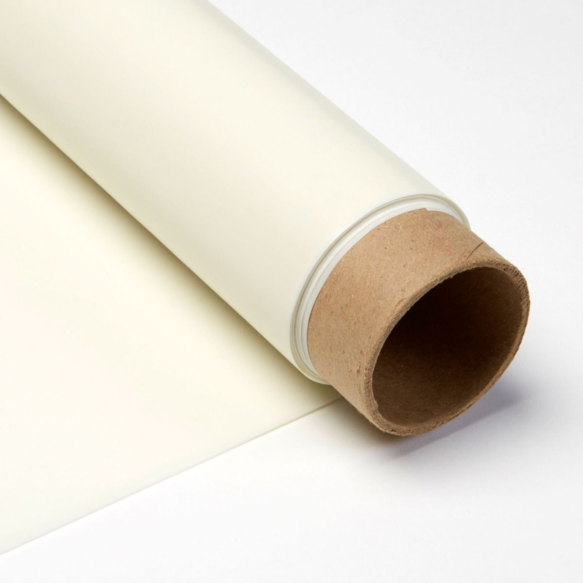 White Rear Projection Material Shipped in a Tube