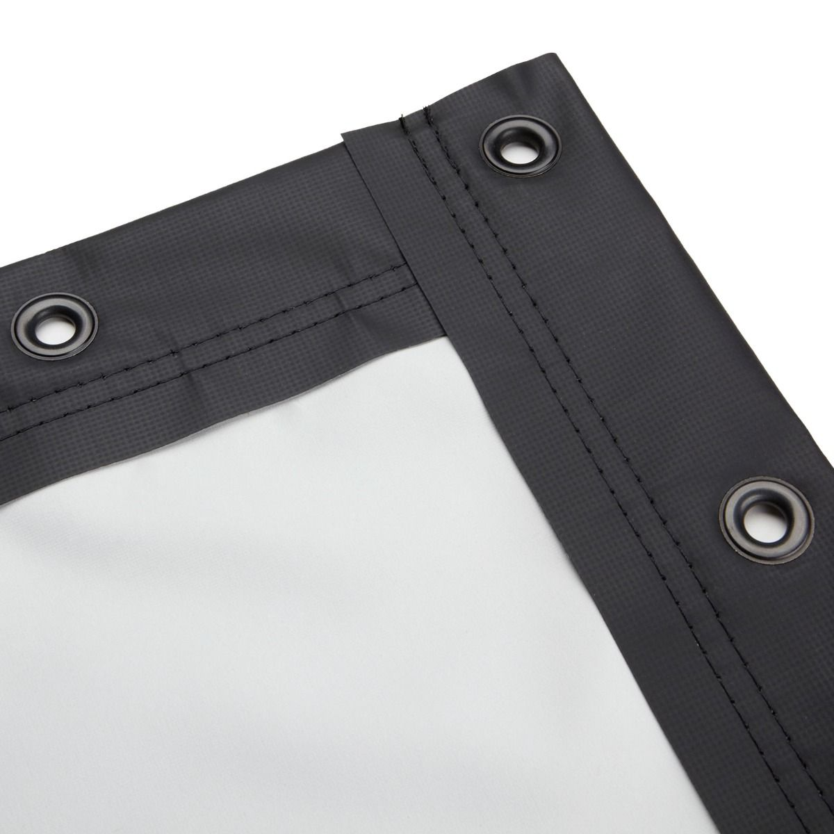 Blackout Cloth Finished Edge Screen