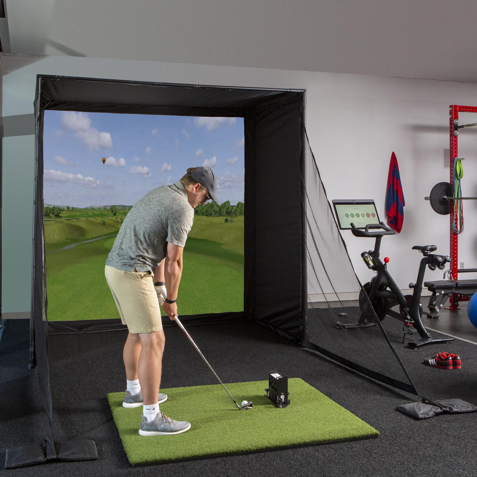 DIY Golf Enclosure