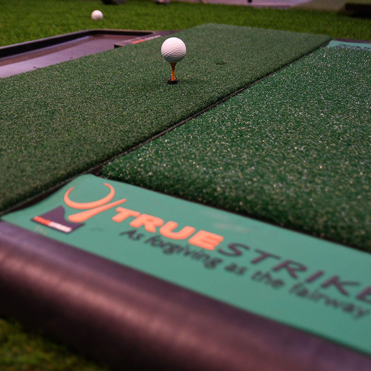TrueStrike Golf Mat Closeup